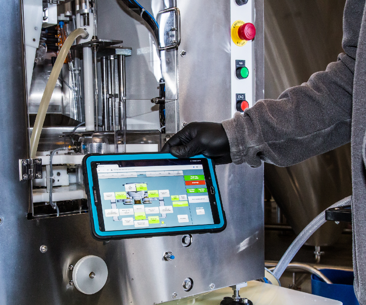 Gosling Canning Line_Touchscreen Tablet_Wild Goose Filling