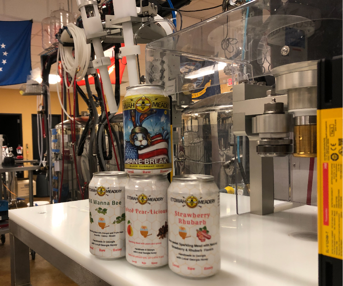 WGC-50 Canning Line_Canned Mead_Wild Goose Filling