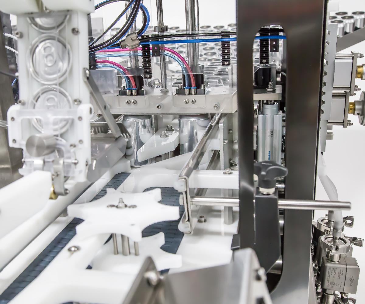 Counter Pressure Canning System_Wild Goose Fusion canning line filler